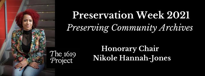 Celebrate Preservation Week 2021, April 25-May 1, 2021