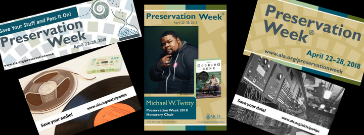 Preservation Week 2018 Event Tools