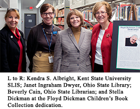 Photo from the Dickman Collection dedication