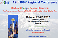 Postcard image: 12th IBBY Regional Conference, October 20-22, 2017