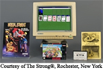 Photo of games, courtesy of The Strong®, Rochester, New York