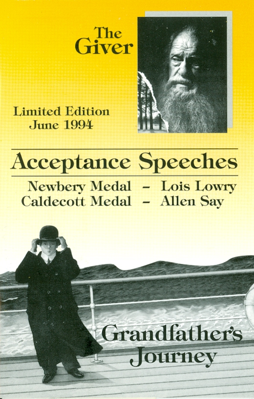 Audio Speech Cover: 1994  Newbery and Caldecott Acceptance Speeches