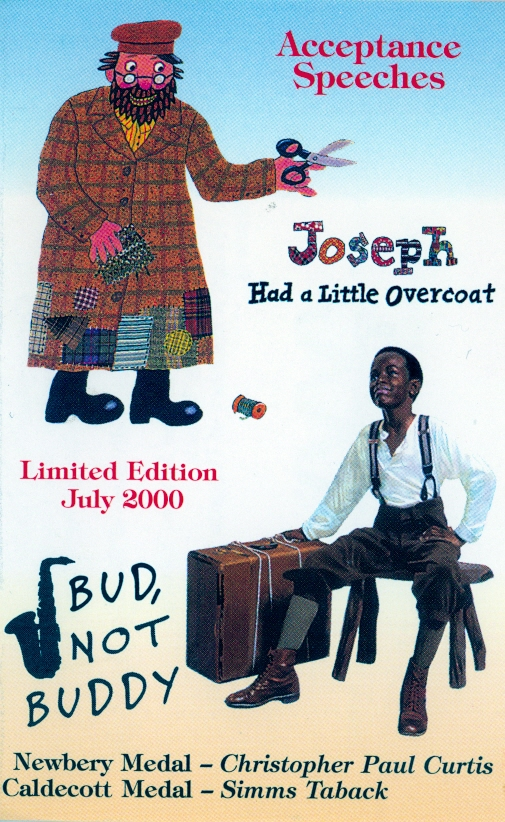 Audio Speech Cover: 2000 Newbery and Caldecott Acceptance Speeches