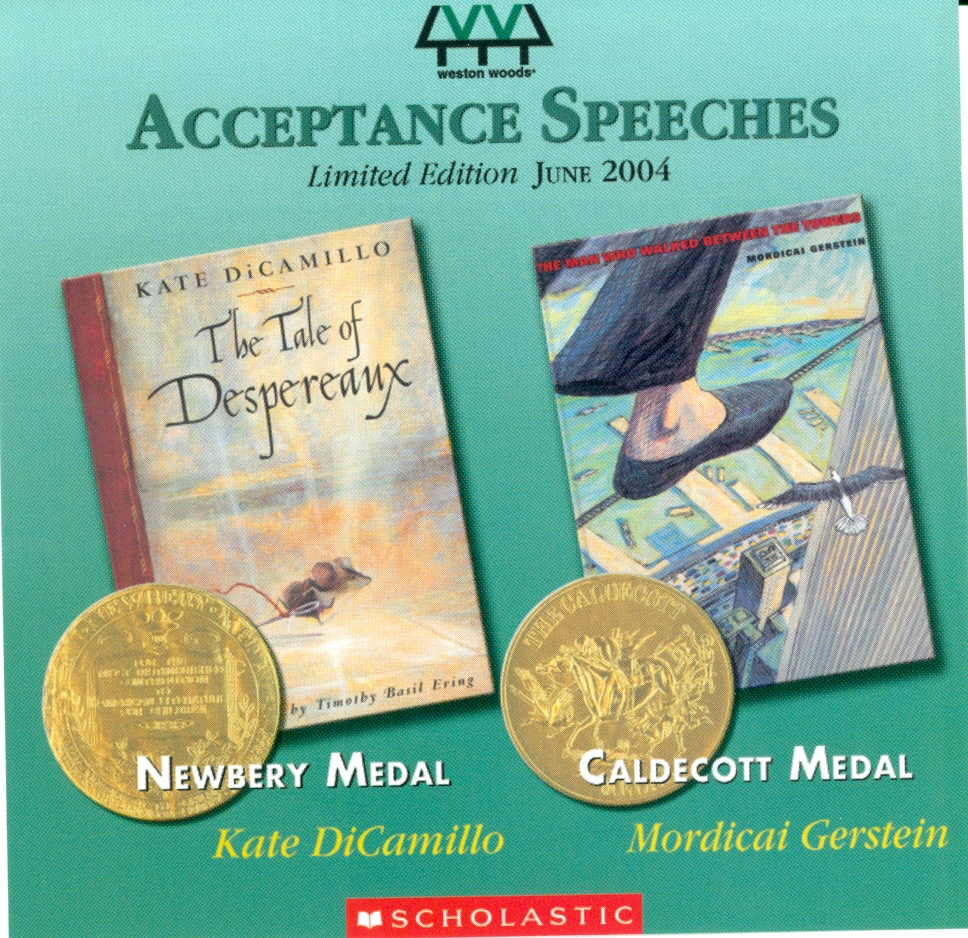 Audio Speech Cover: 2004 Newbery and Caldecott Acceptance Speeches