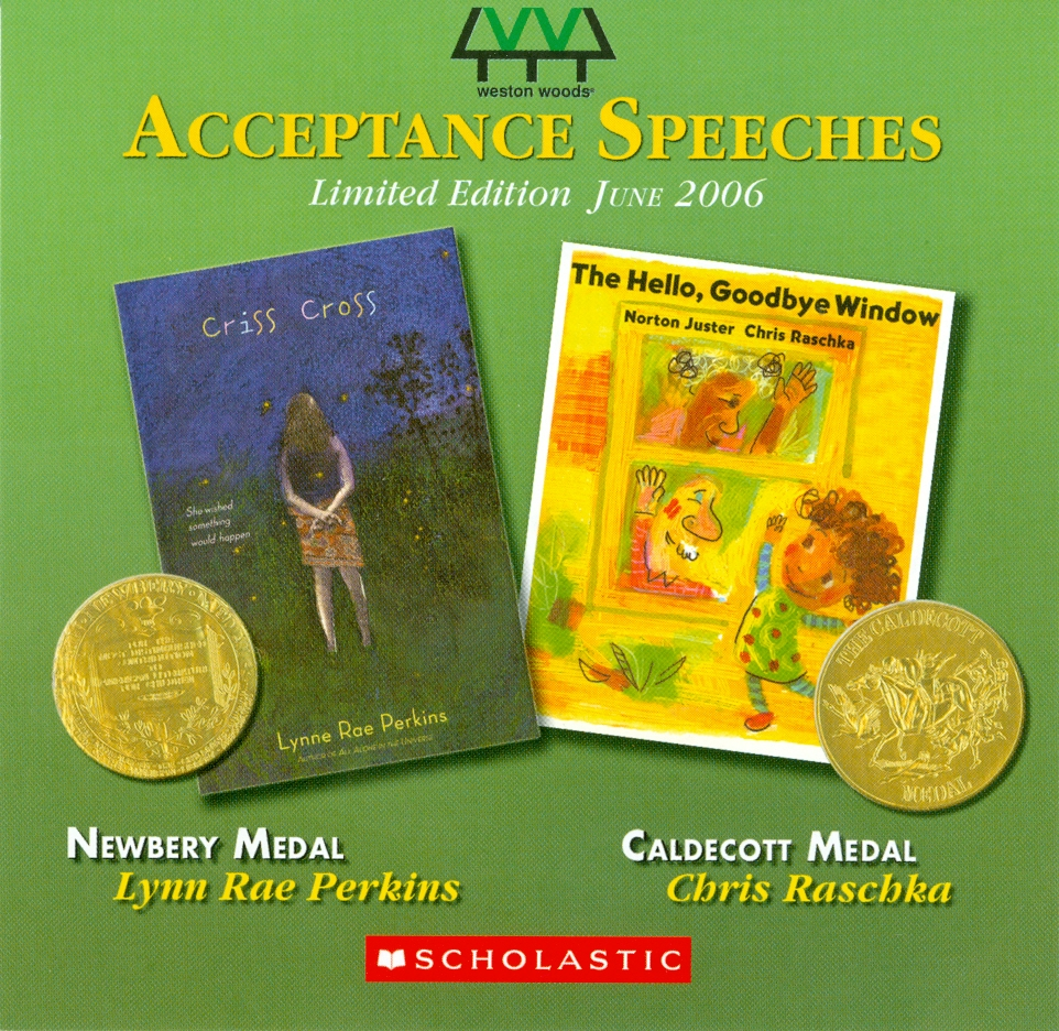 Audio Speech Cover: 2006 Newbery and Caldecott Acceptance Speeches