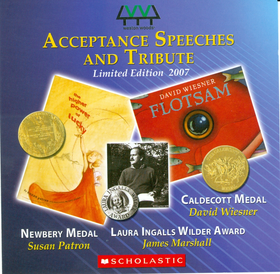 Audio Speech Cover: 2007 Newberry, Caldecott and Wilder Acceptance Speeches