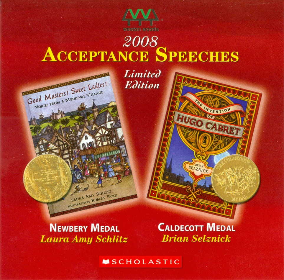 Audio Speech Cover: 2008 Newbery and Caldecott Acceptance Speeches