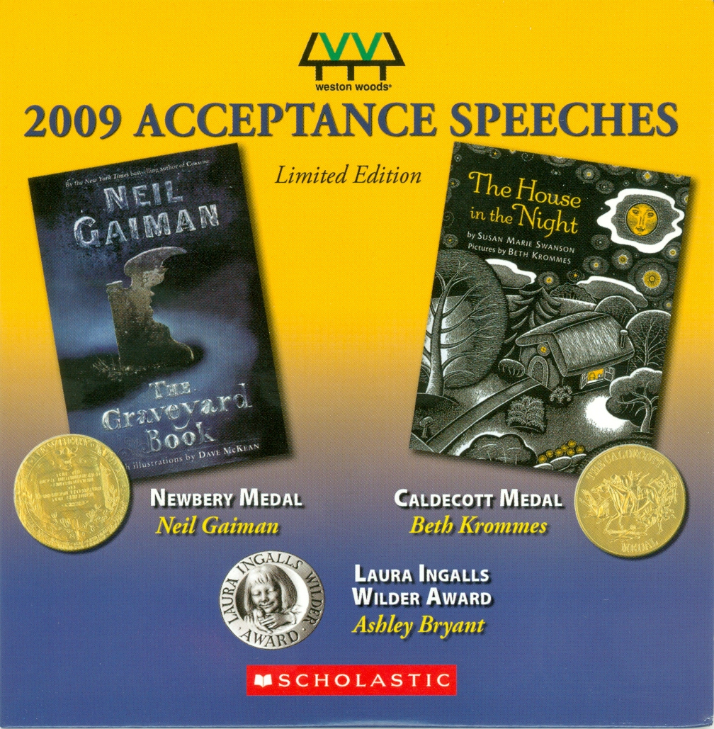Audio Speech Cover: 2009 Newberry, Caldecott and Wilder Acceptance Speeches