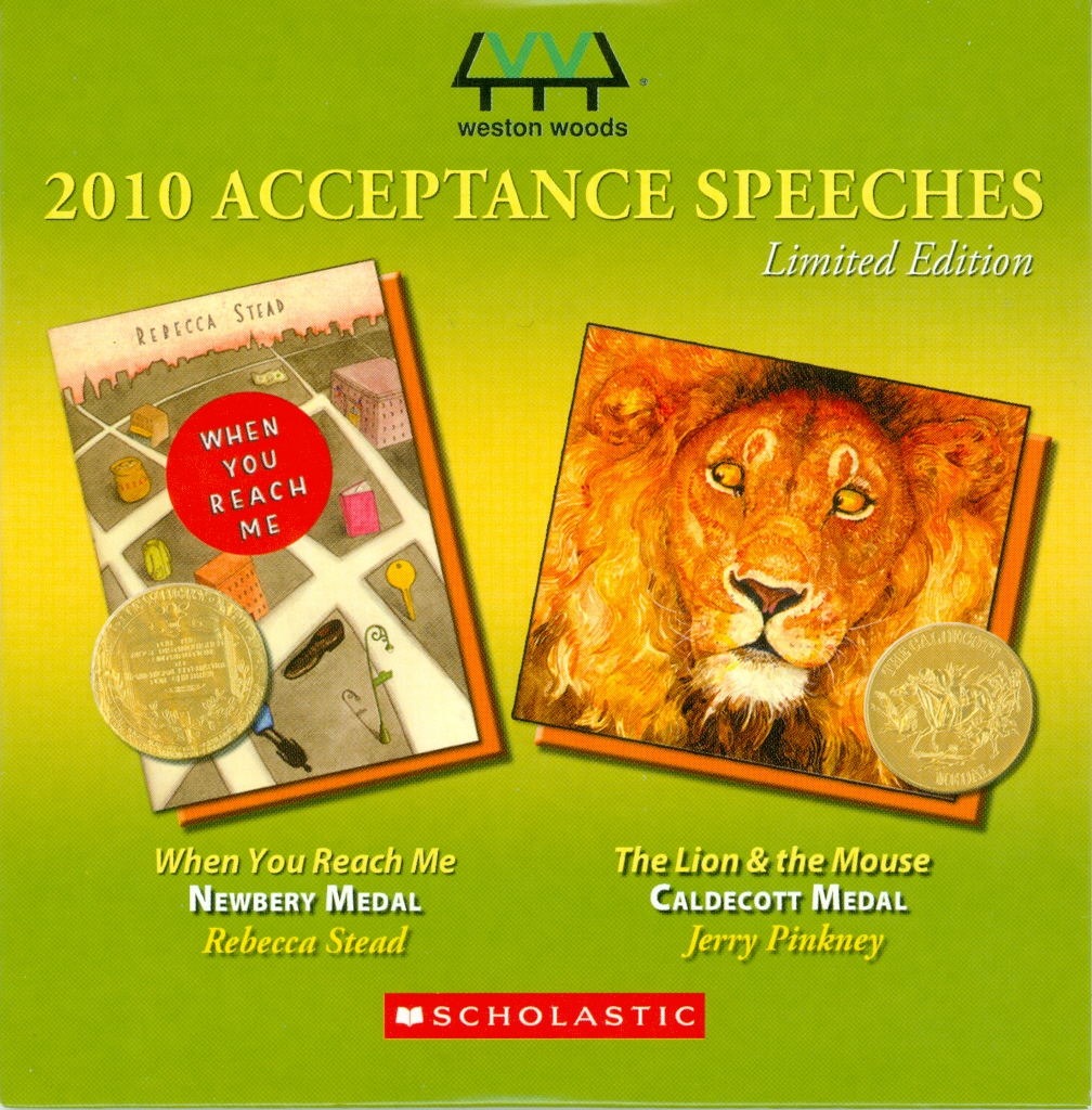 Audio Speech Cover: 2011 Newbery and Caldecott Acceptance Speeches