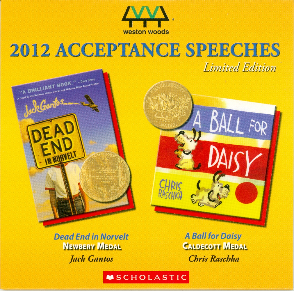 Audio Speech Cover: 2012 Newberry and Caldecott Acceptance Speeches