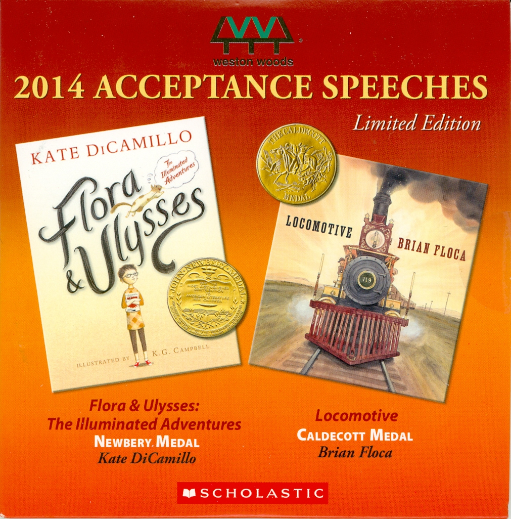 Audio Speech Cover: 2014 Newberry and Caldecott Award Speeches