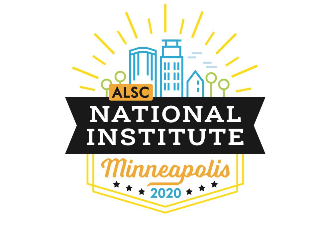 2020 ALSC National Institute Logo
