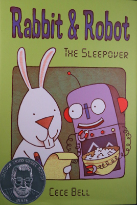 Book cover: Rabbit and Robot: The Sleepover
