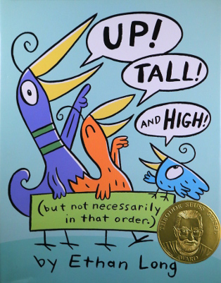 Book cover: Up, Tall and High!
