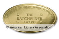 The Batchelder Award gold seal image