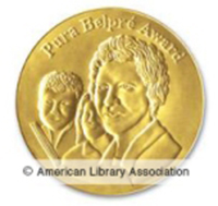 Belpre Award Medal image - (c) American Library Association