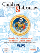 Spring 2013 CAL cover image - featuring the 75th anniversary logo designed by Brian Selznick