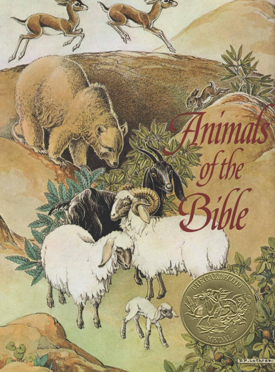 Animals of the Bible - cover image