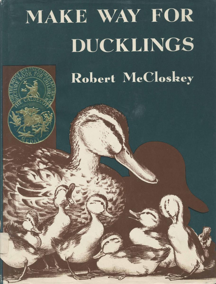Make Way for Ducklings - book cover image