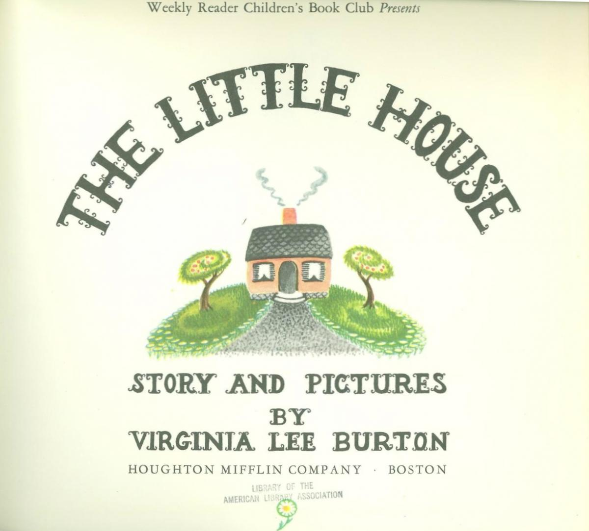 The Little House - title page image