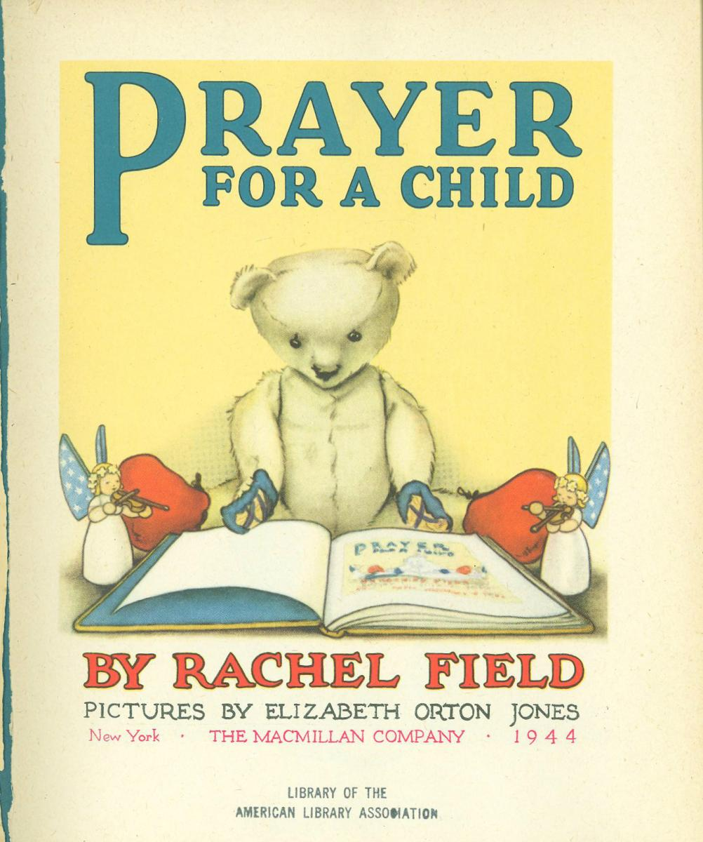 Prayer for a Child title page