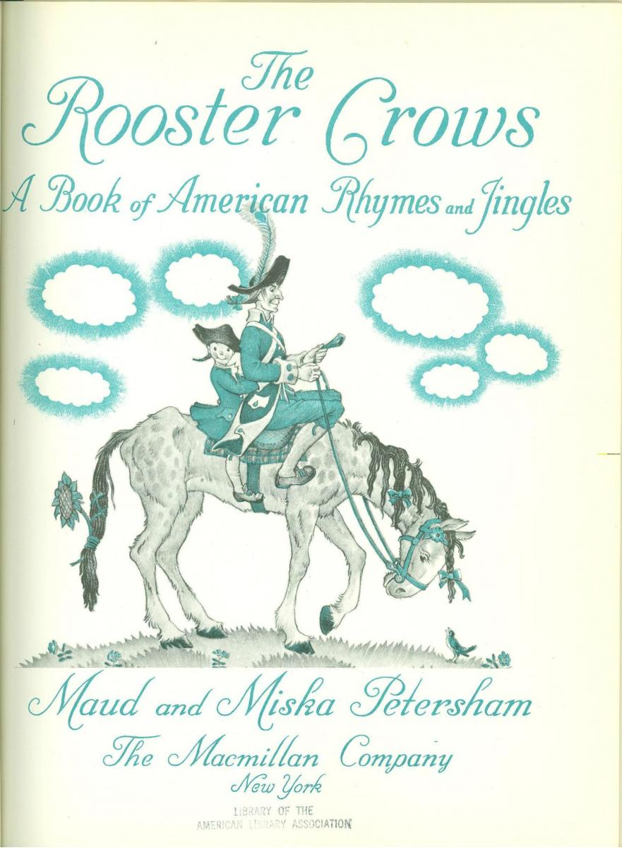 The Rooster Crows - title page image