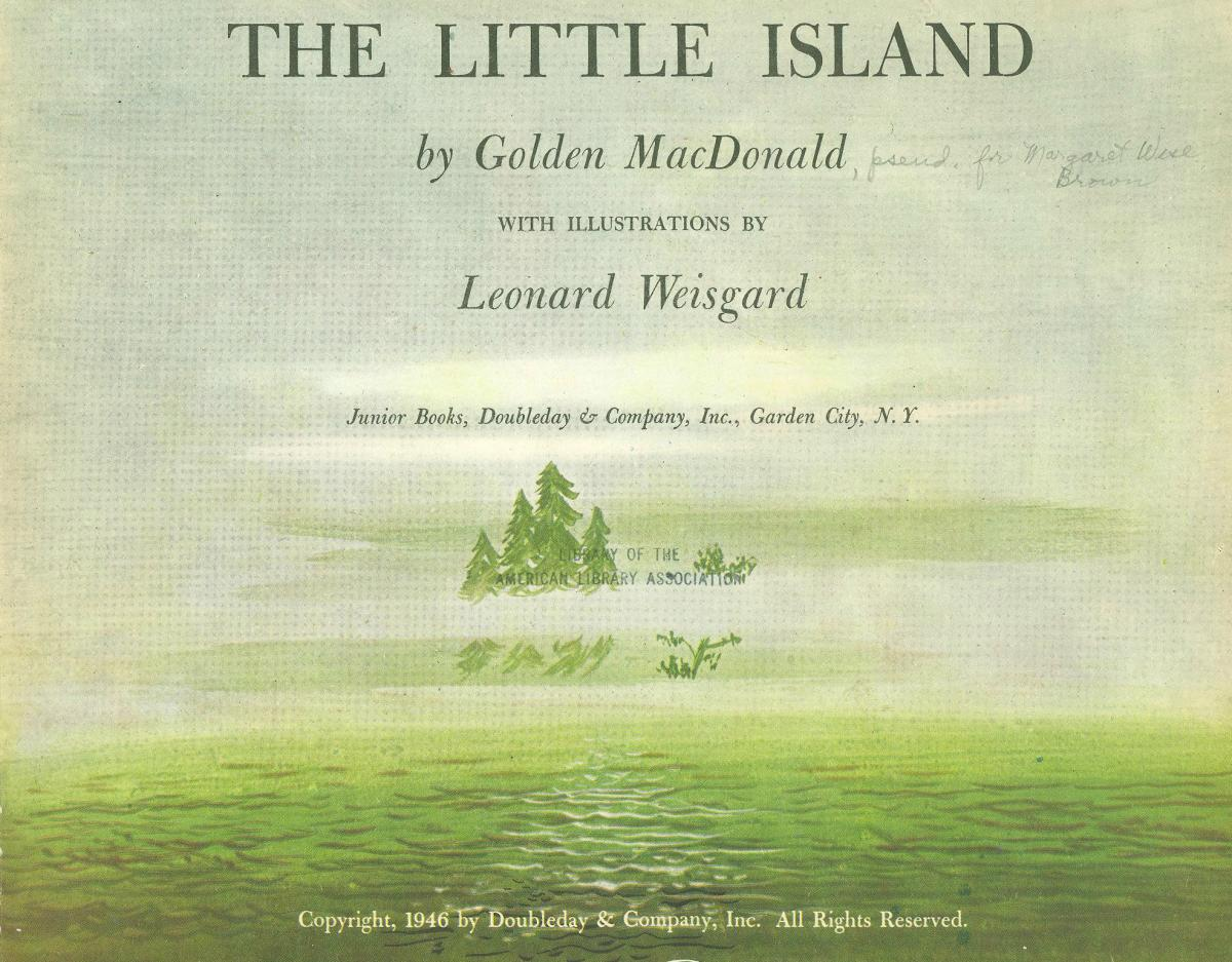 The Little Island verso