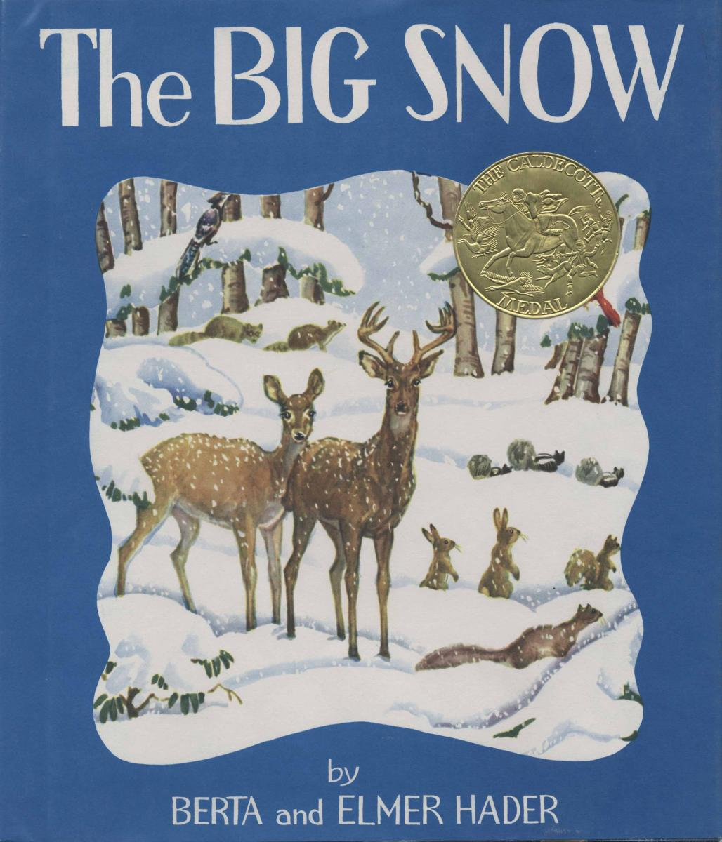 The Big Snow - book cover image