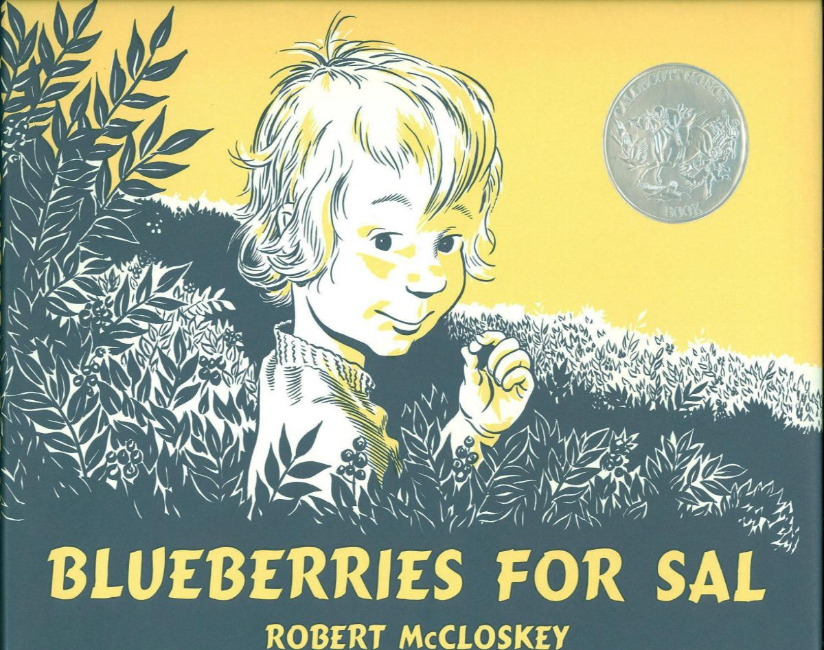 Blueberries for Sal - book cover image