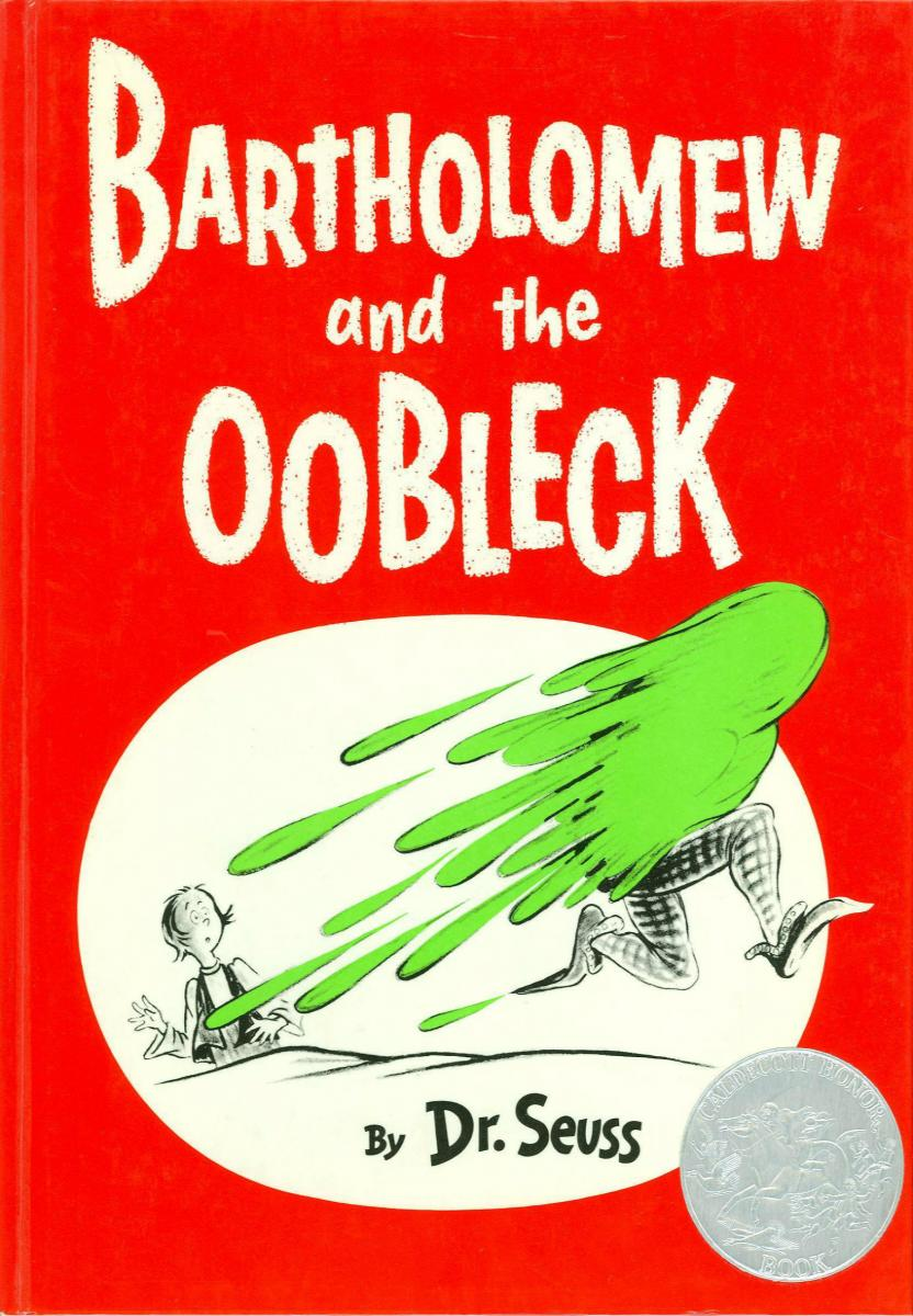 Bartholomew and the Oobleck - book cover image