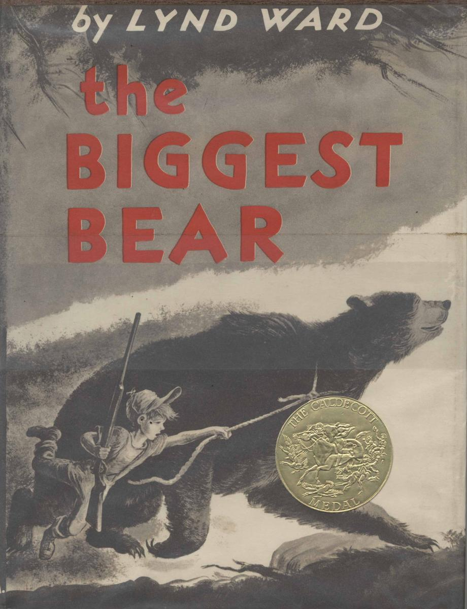The Biggest Bear - book cover image