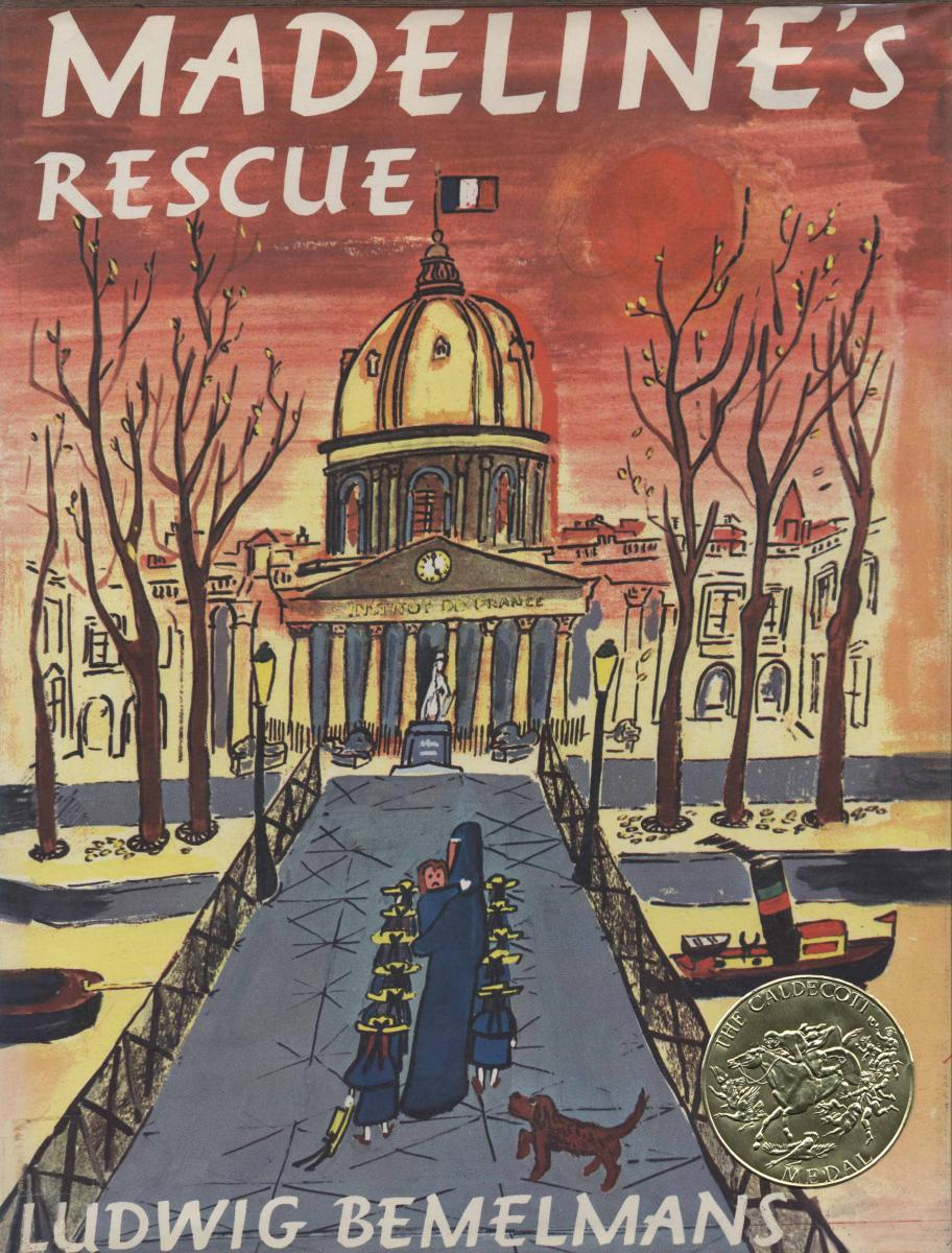 Madeline's Rescue - book cover image