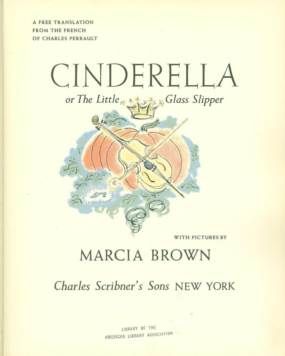 Cinderella - title page image