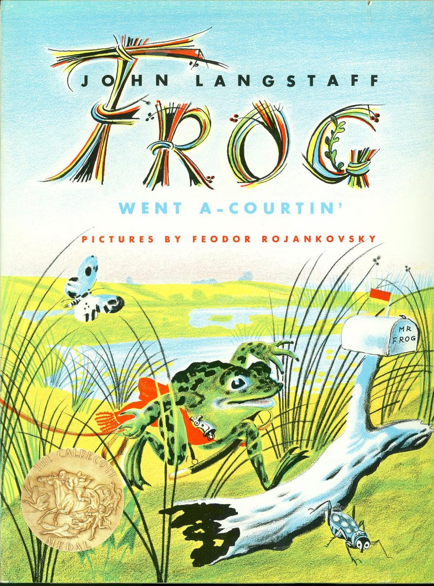 Frog Went A-Courtin' - book cover image