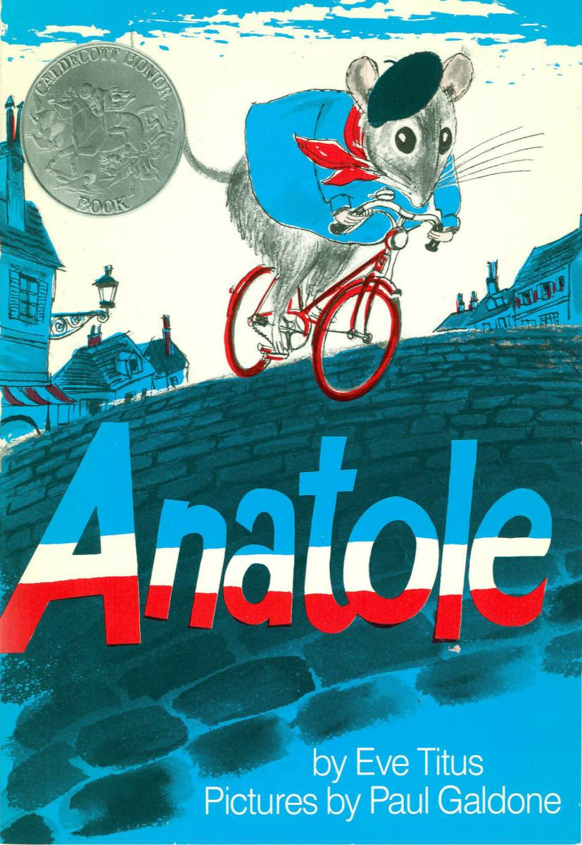 Anatole - book cover image