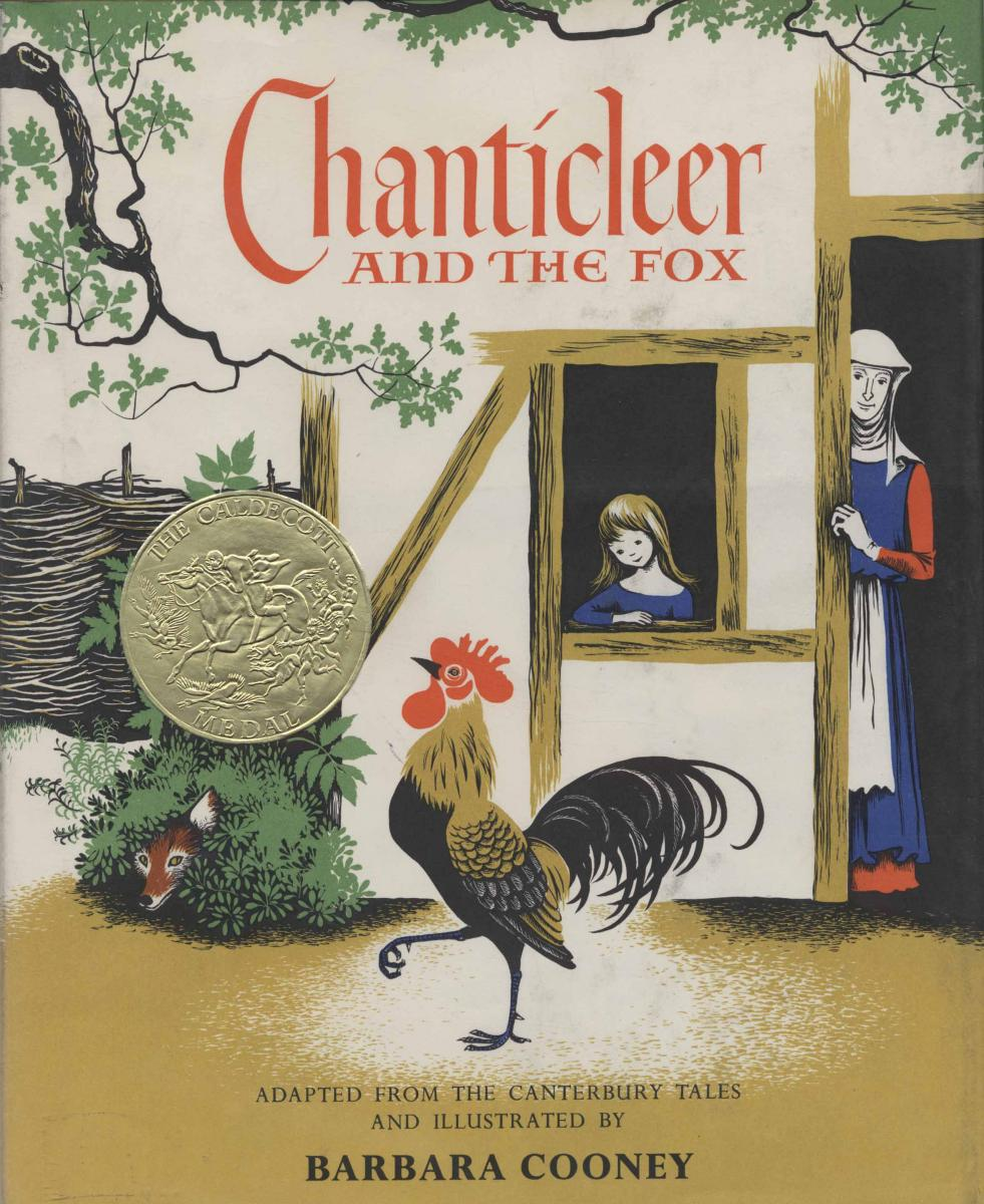 Chanticleer and the Fox - book cover image