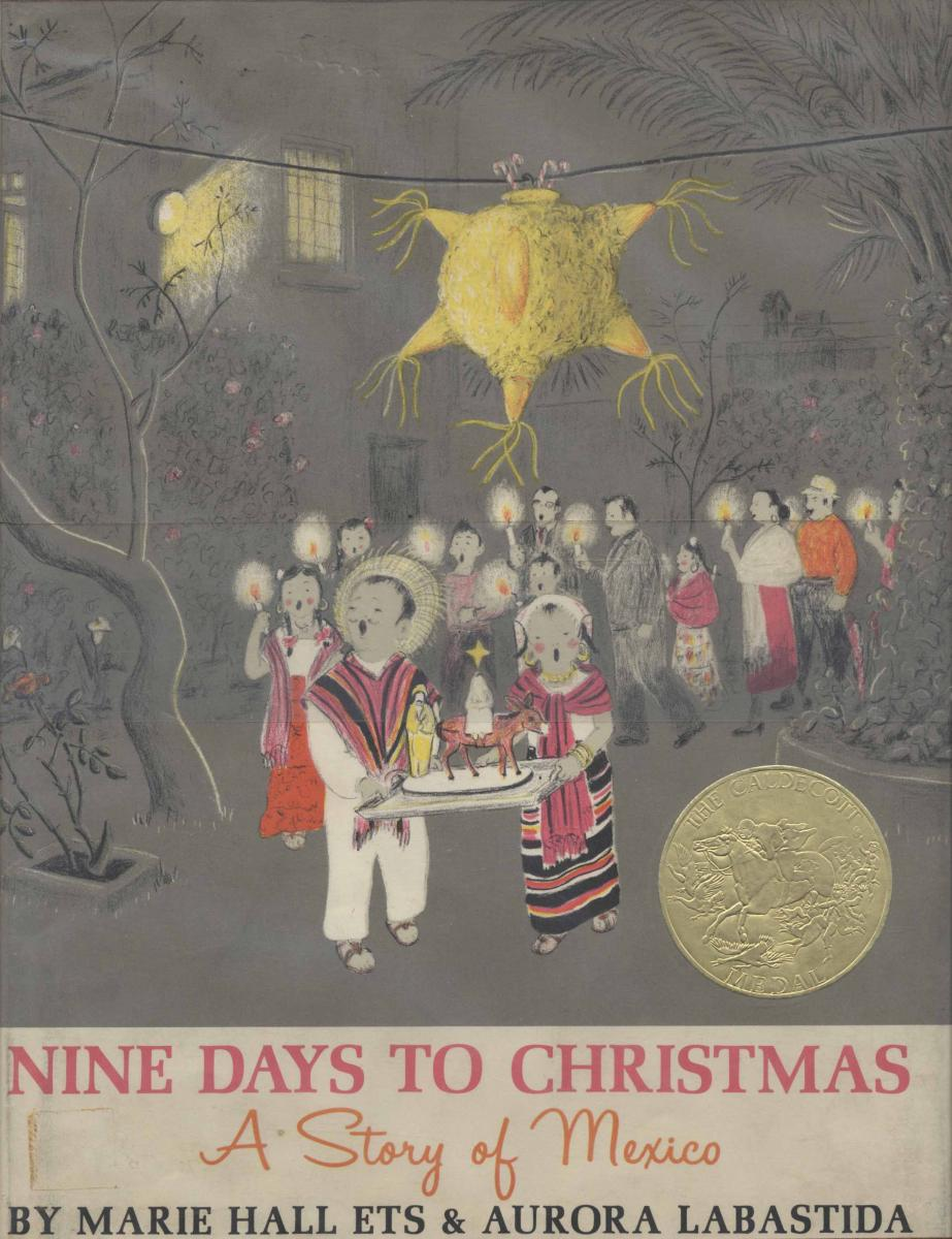 Nine Days to Christmas - book cover image