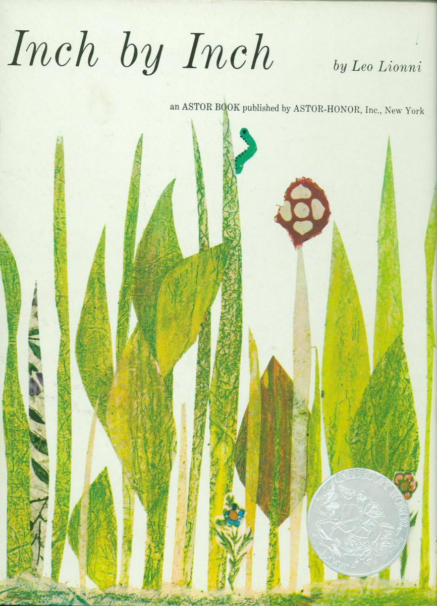 inch by inch  1961 caldecott honor book