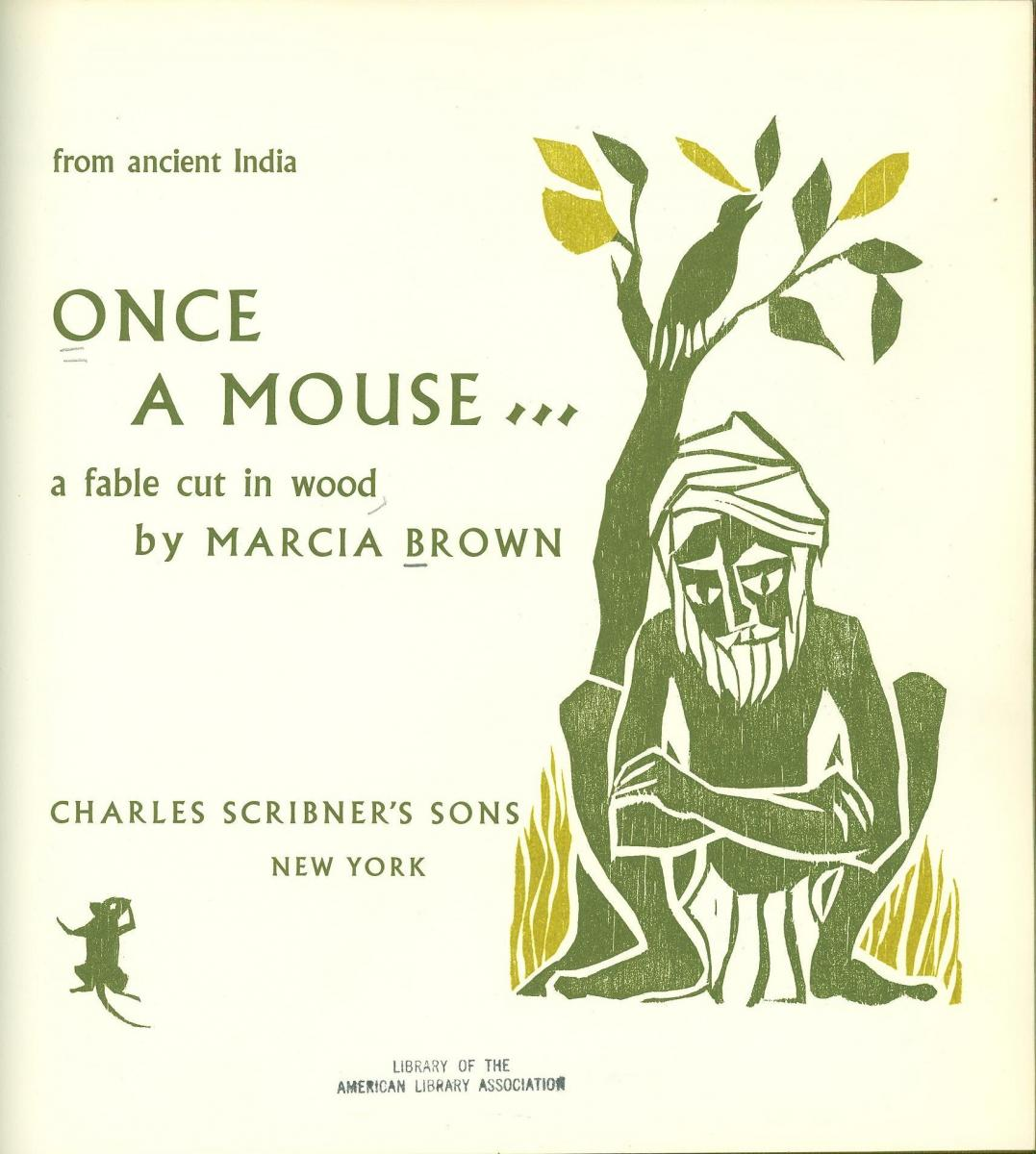 Once a Mouse... - title page image