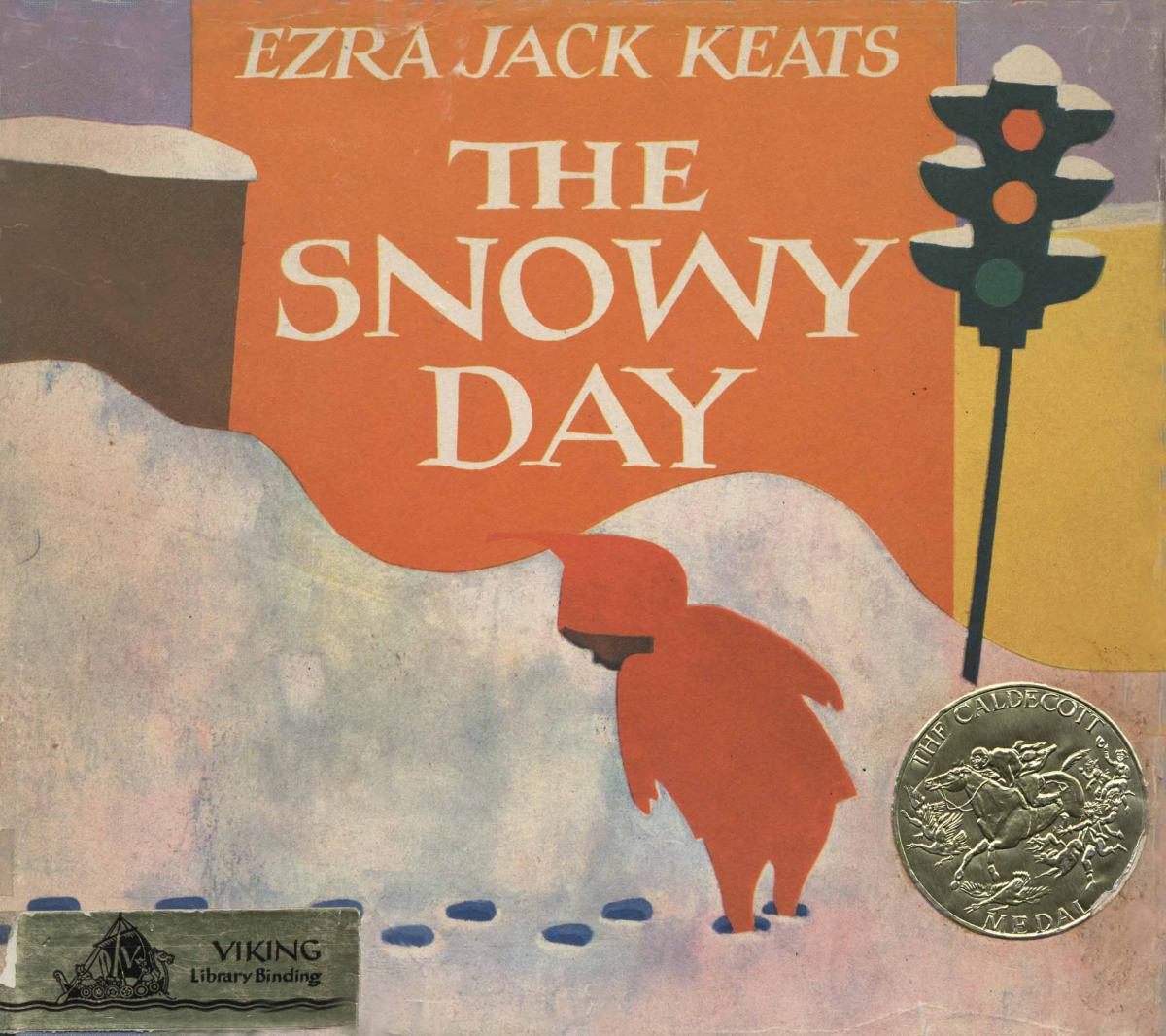 The Snowy Day - book cover image