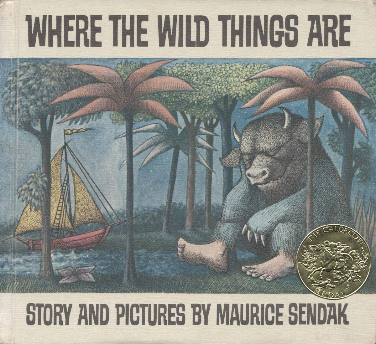 Where the Wild Things Are - book cover image