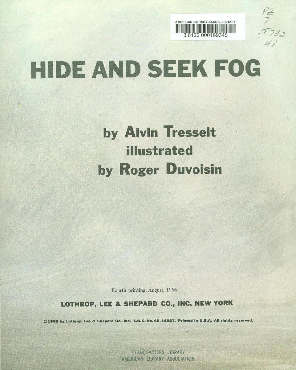 Hide and Seek Fog - copyright