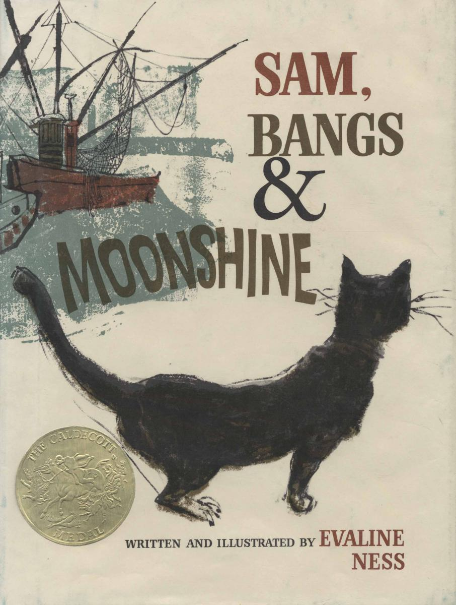 Sam, Bangs & Moonshine - book cover image