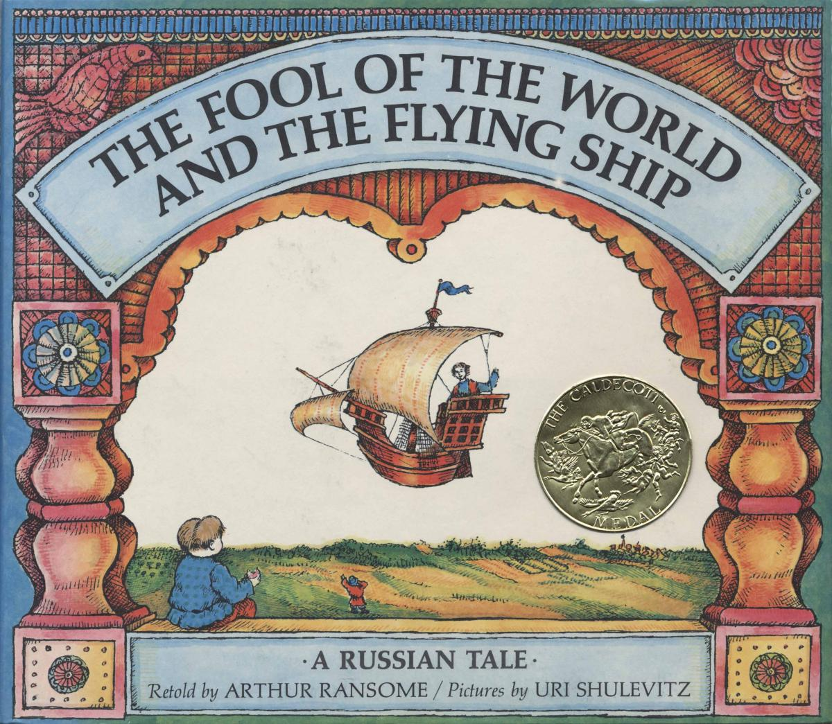 The Fool of the World and the Flying Ship - book cover image