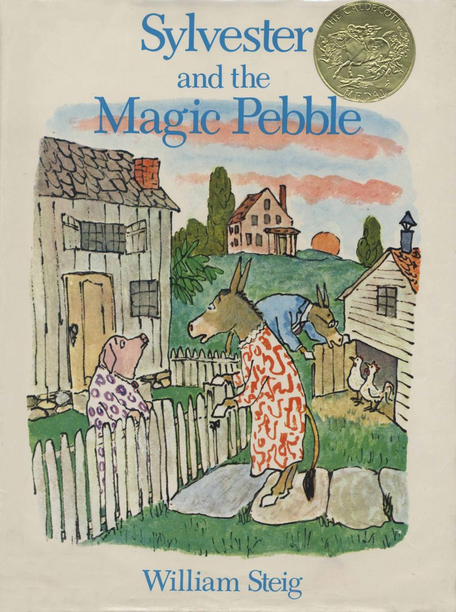 Sylvester and the Magic Pebble - book cover image