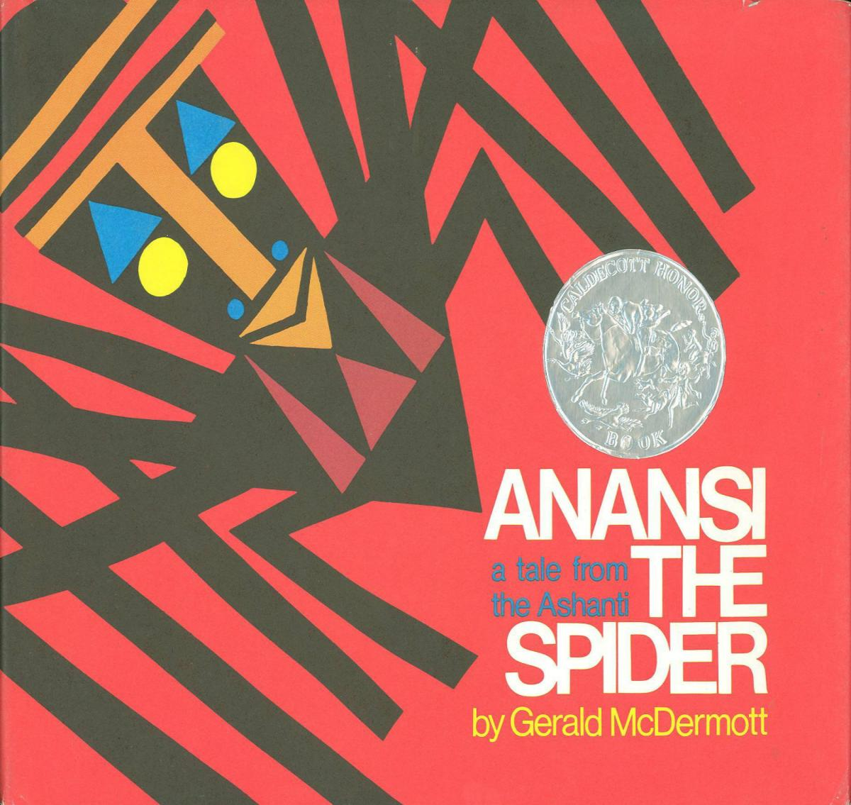 Anansi the Spider: A Tale from the Ashanti - book cover image