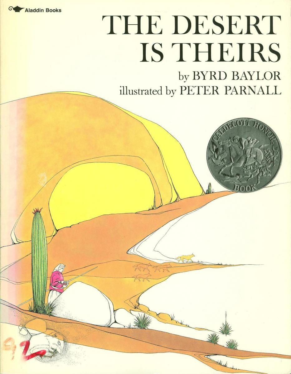 The Desert is Theirs - book cover image