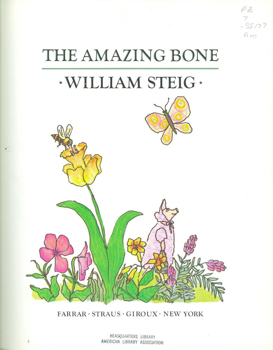 The Amazing Bone - book cover image
