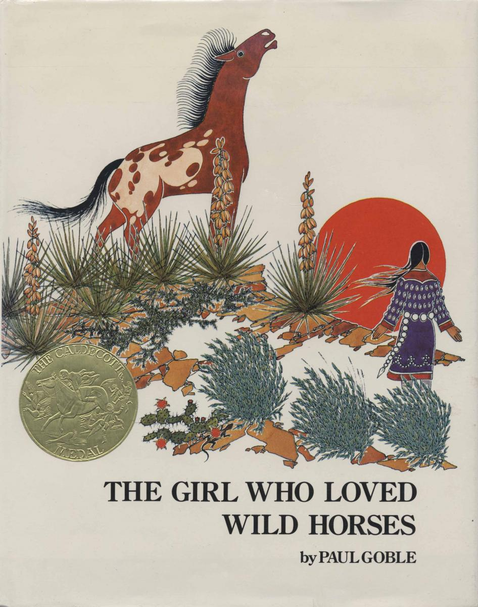 The Girl Who Loved Wild Horses - book cover image