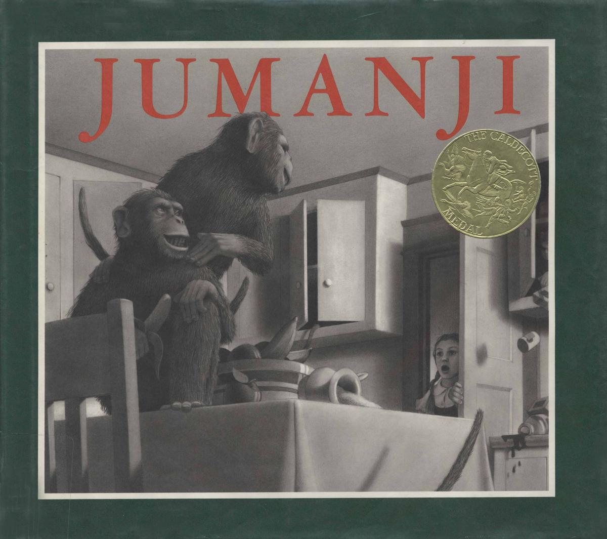 Jumanji - book cover image